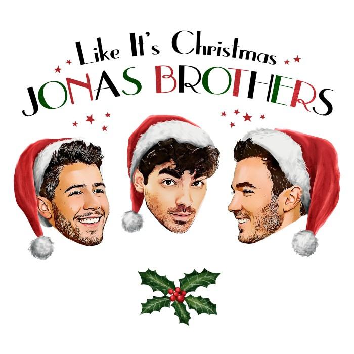 """Jonas Brothers nuovo singolo """"Like It's Christmas"""""""