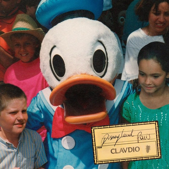 "Clavdio copertina singolo ""Disneyland Paris"""