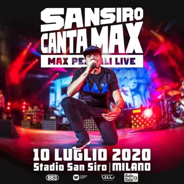 Max Pezzali 10 luglio San Siro