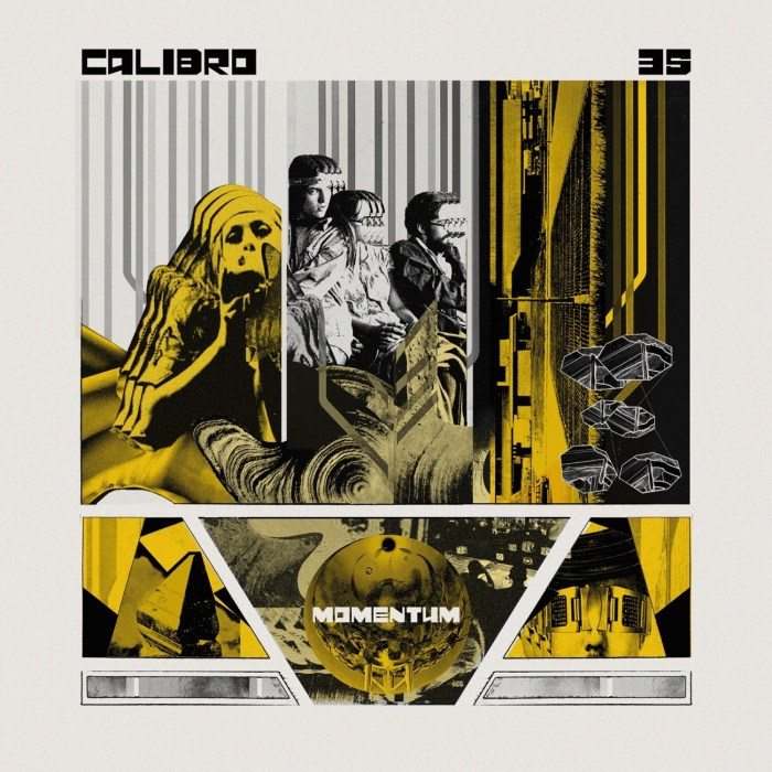 "Calibro 35 copertina ""Momentum"""