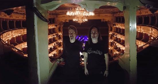 Manuel Agnelli e Rodrigo D?Erasmo al Teatro degli Arcimboldi di Milano 10 dicembre 2019