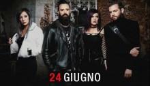 Skillet rock in roma 24 giugno