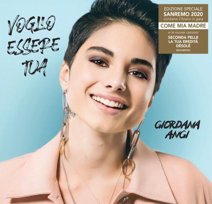 """Giordana Angi """"Voglio essere tua"""" Sanremo edition"""