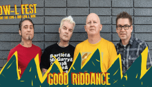 Good Riddance in concerto al Low-L Fest di Lodi
