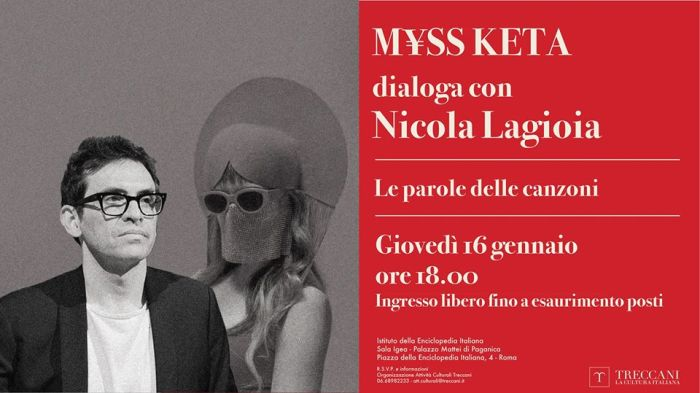 Myss Keta dialoga con Nicola Lagioia