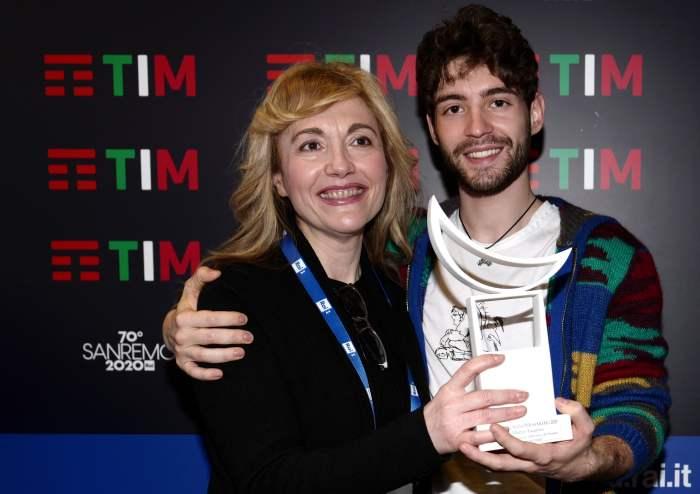 Loredana D'Anghera e Matteo Faustini