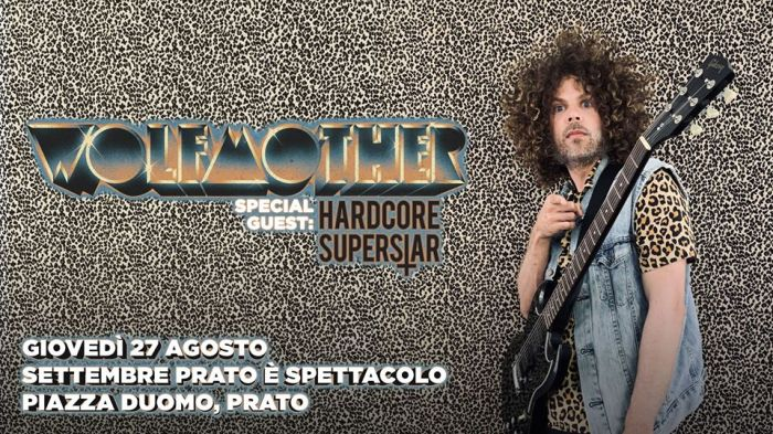 Wolfmother e Hardcore Superstar in concerto il 27 agosto a Prato