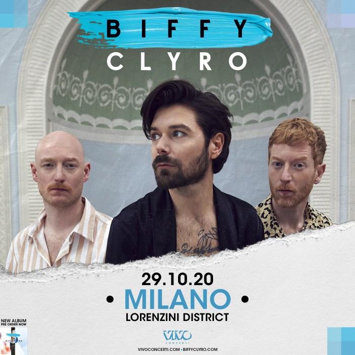 Biffy Clyro concerto 29 ottobre Milano