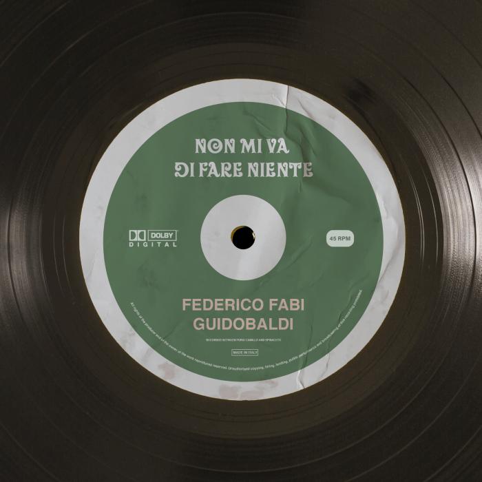 """""""Non Mi Va Di Fare Niente"""" Federico Fabi Guidobaldi"""