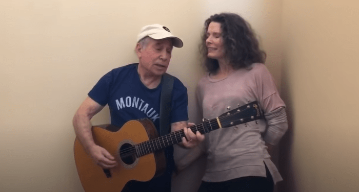 Paul Simon canta cover Everly Brothers