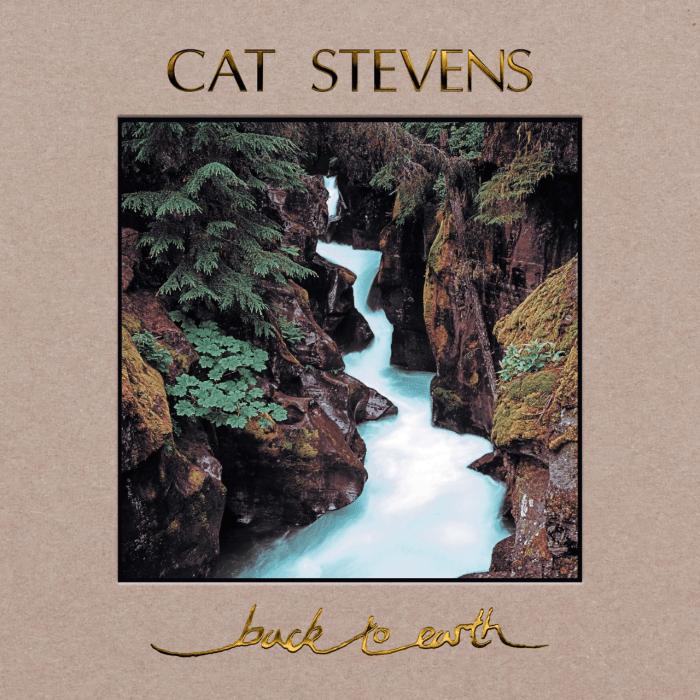 "Cat Stevens copertina ""Back to Earth"""