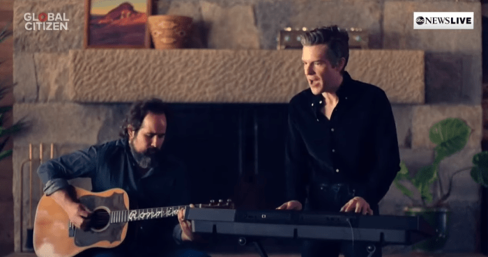 The Killers Together At Home