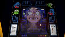 "Gorillaz video ""Pac-Man"""