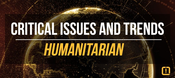 critical issues and trends humanitarian concerns