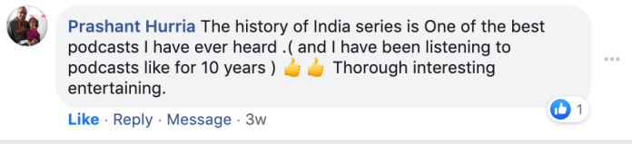 history of india podcast series