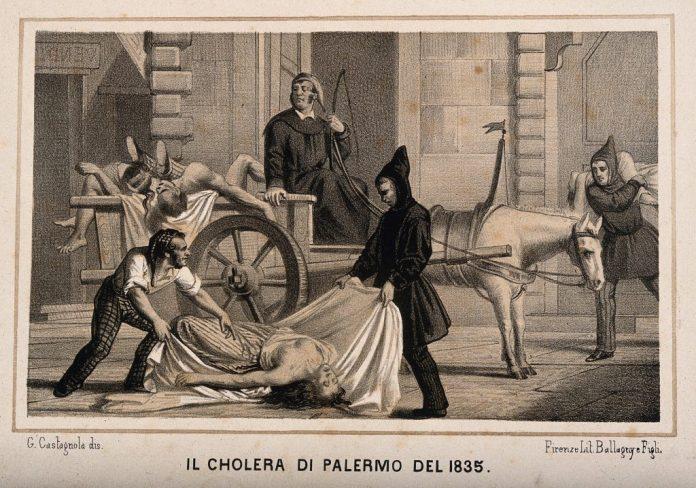 cholera timeline