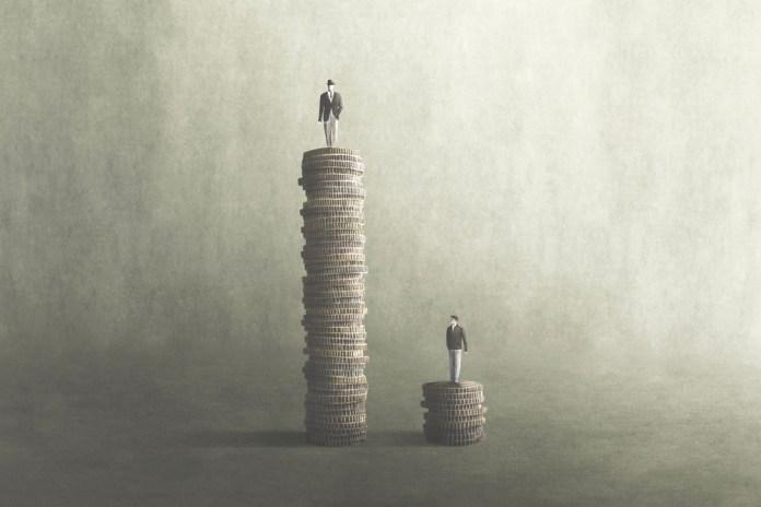 history of economic inequality
