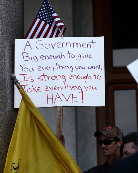 Tea Party Protest - Photo by Sage Ross
