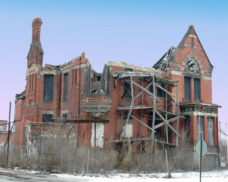Abandoned Home In Detroit - Photo by Jmk7