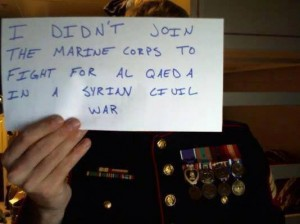 I Didn't Join The Marine Corps To Fight For Al Qaeda