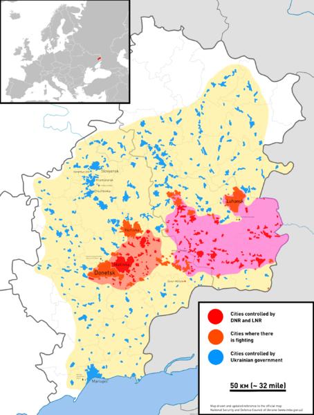 Guerra Civil En Ucrania 2014