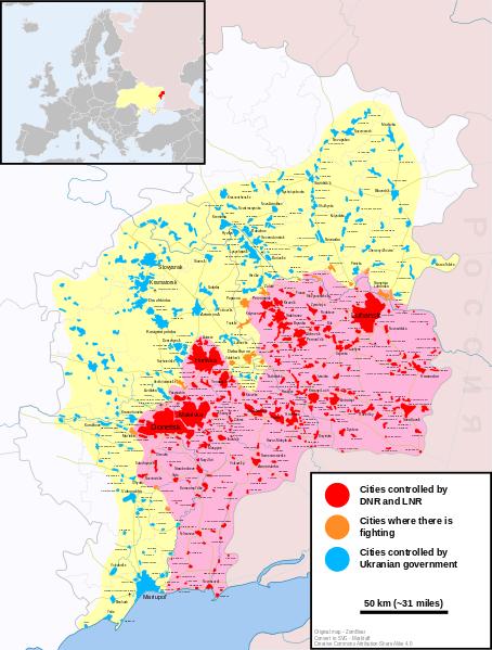 Guerra Civil En Ucrania 2015