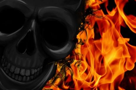 Halloween Fire - Public Domain