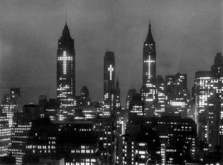 New York Skyline 31 March 1956