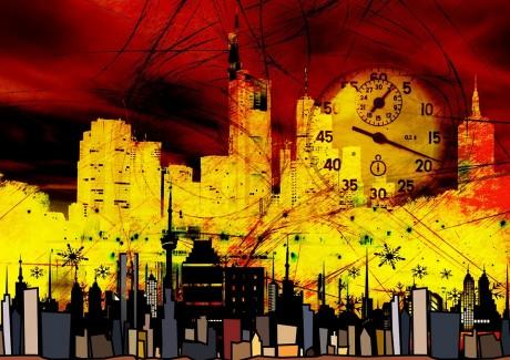 City Abstract - Public Domain