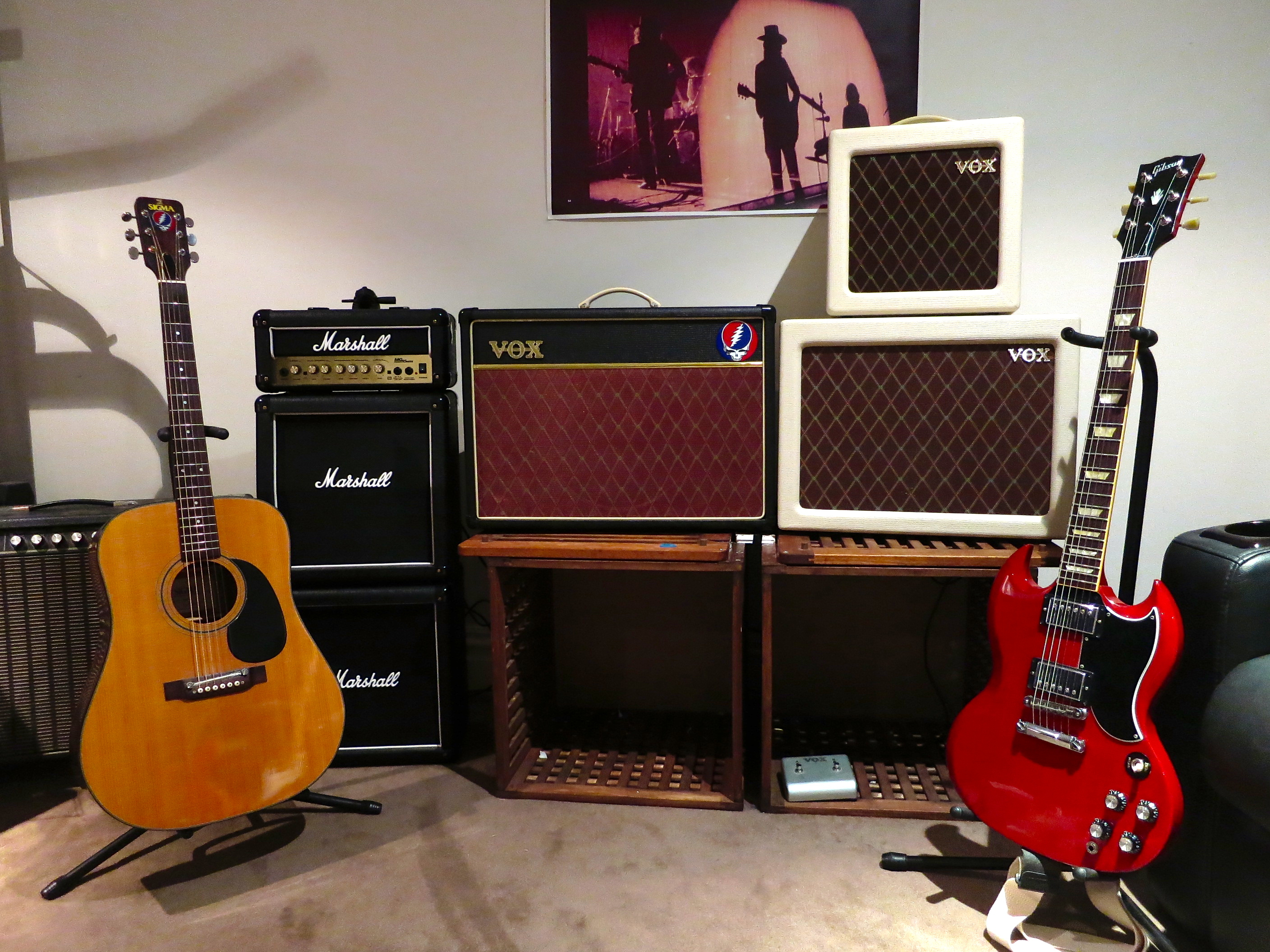 Vox AC4TV Mod Guide  End of the Game