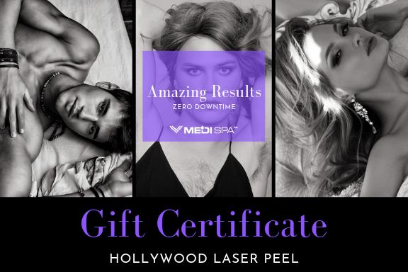 Bid to win 3 treatments, Laser Facial Peels, Valued $660