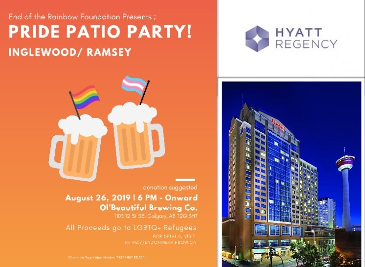Bid to win a night at the Calgary Regency Hyatt, Value $385