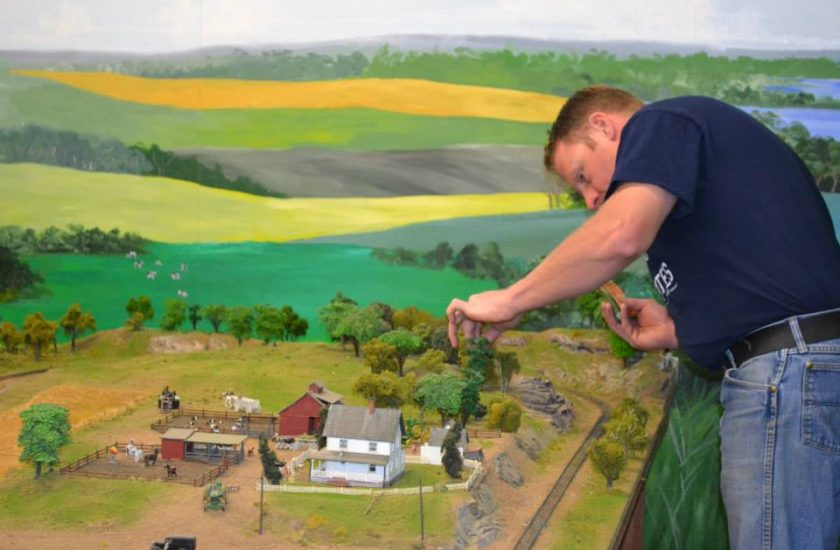 HO Scale Model Railroad Layout Gets A Tune Up Endoline
