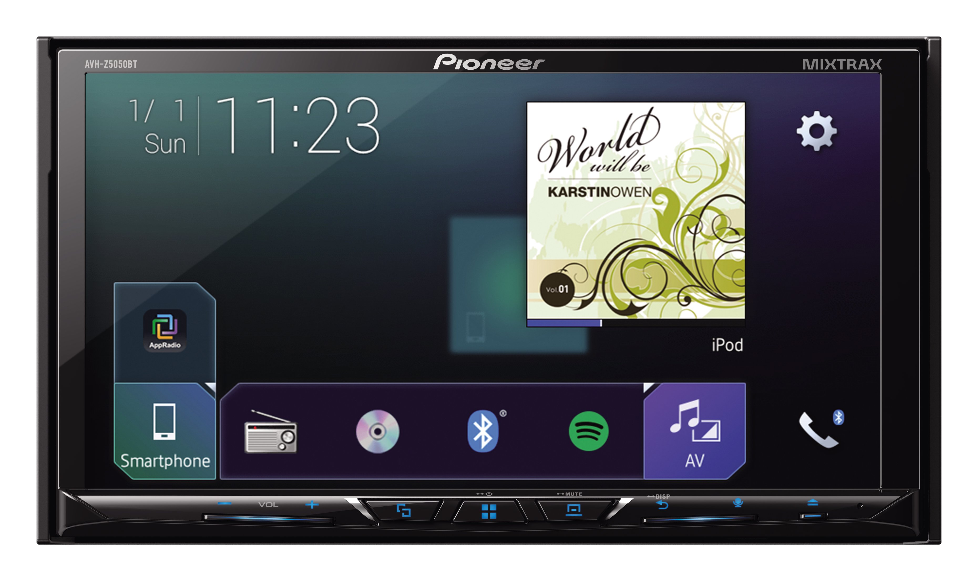 pioneer avh 288bt qual formato de video hockey player diagram autoestereo 7 quot 2 din con bt usb mp3 dvd marca