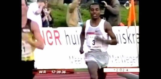 Kenenisa Bekele hengele record mundia