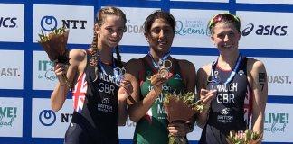 Cecilia Ramírez MEX Campeona Mundial de Triatlón Juvenil 2018