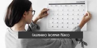 Calendario Ironman México