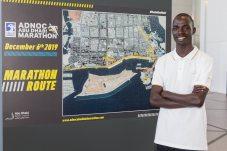 Marius Kipserem, ADNOC Abu Dhabi Marathon 2018 winner