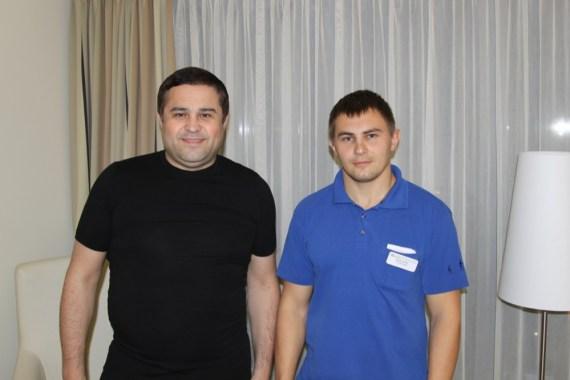 Рашид Халиков и Сергей Карстен