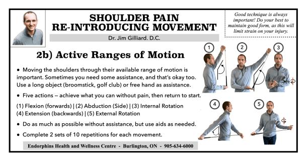 2B Shoulder Movement AROM