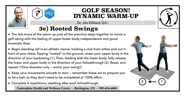 Rooted Swings Golf Warm-up