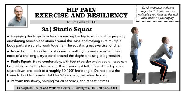 Squat Hip Exercise