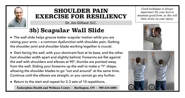 Scapular Wall Slide
