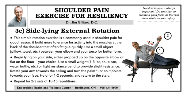 Shoulder Exercise Ext Rot