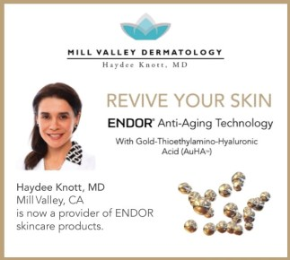 endor anti-aging skincare from mill valley dermatology