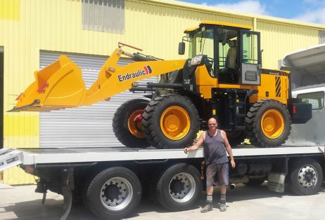 wheel loader nz