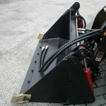mini loader 4 bucket