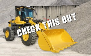 Endraulic LoadMax Wheel Loader