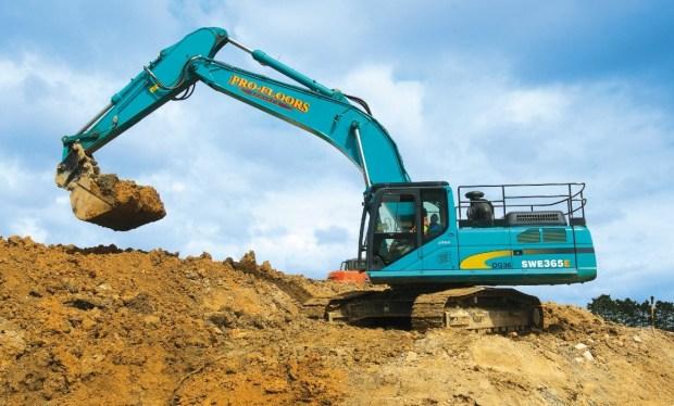 Profloors SWE365E Excavator