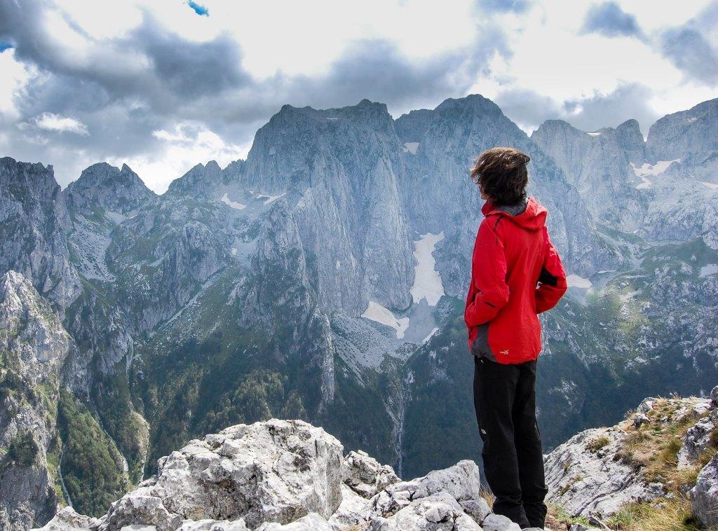 View towards Karanfil mountain